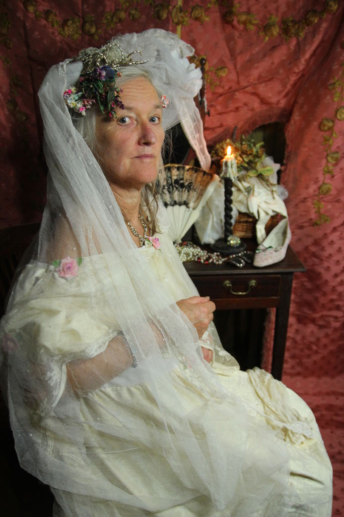 Picture of Miss Havisham - the Perpetual Bride From Charles Dickens's Great Expectations