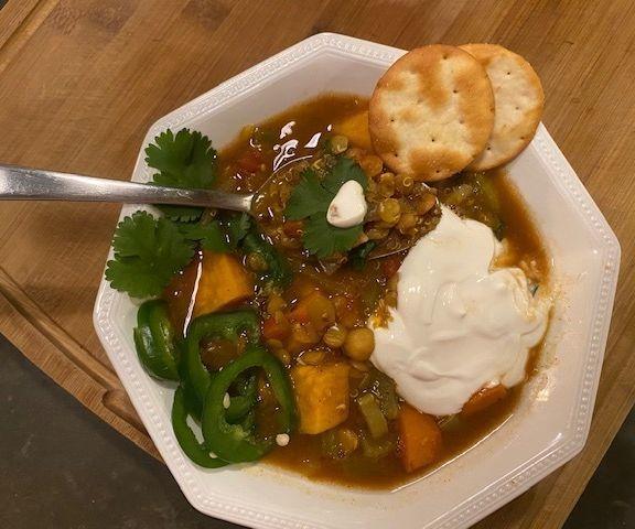 Quinoa and Lintel Super Stew