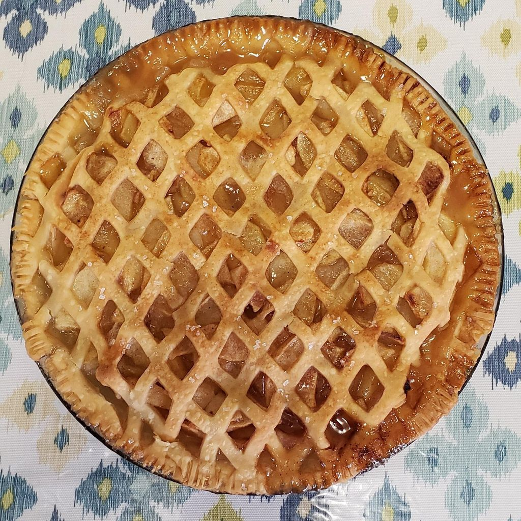 Picture of Aunt Gertie's Iowa Apple Pie