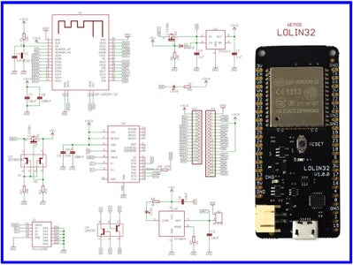 Wemos LOLIN32 ESP-32 Module