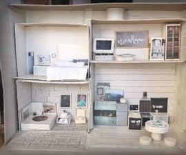 Cheap and Easy DIY Dollhouse