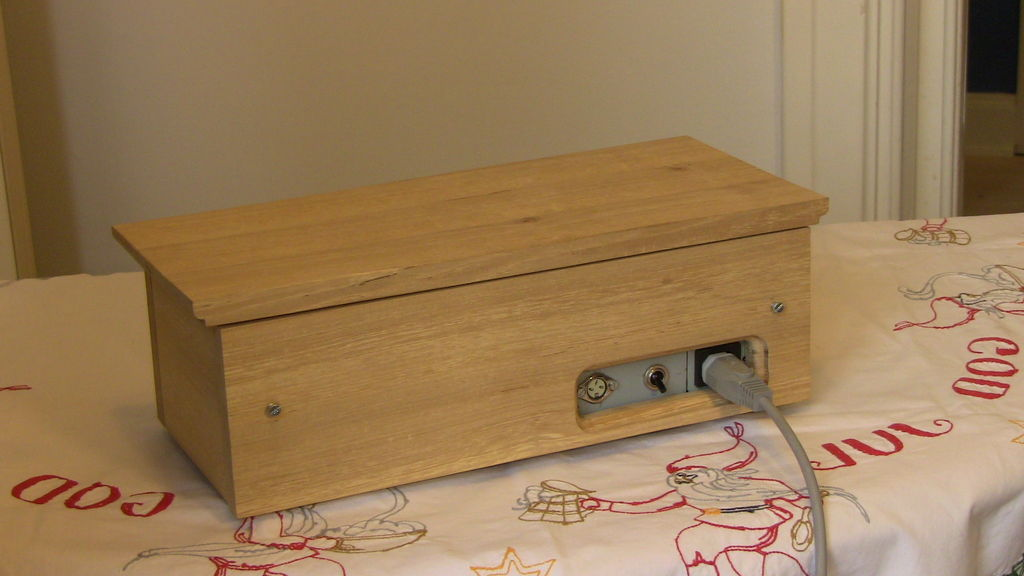 Picture of The Backside of the Amplifier