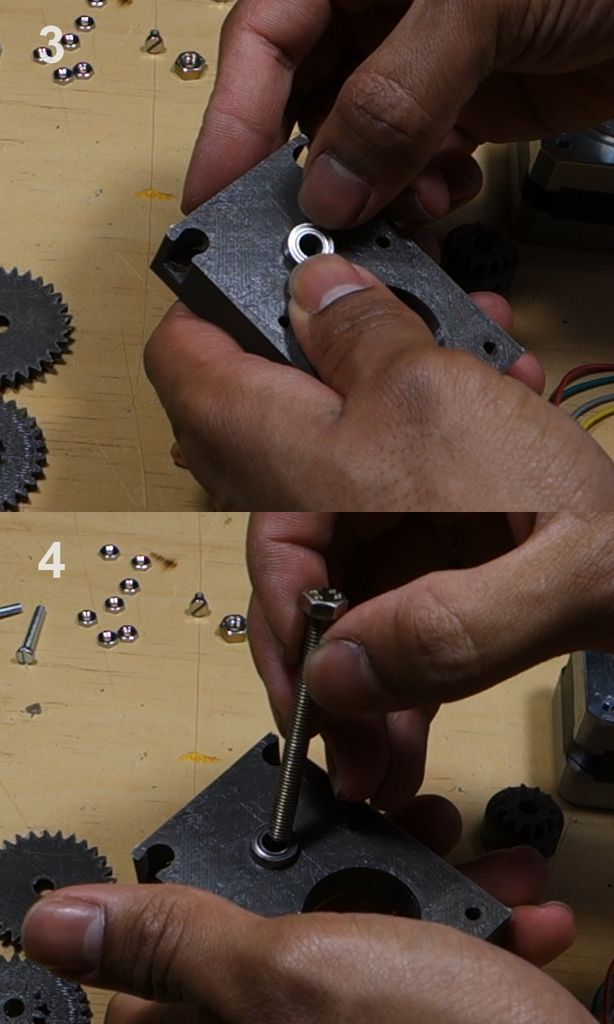 Picture of DIY 3D Printed 16:1 Nema 17 Gearbox