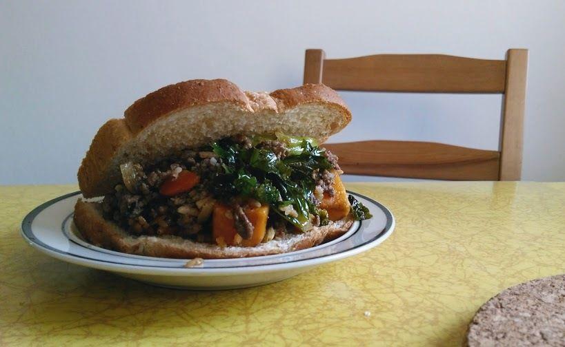 Picture of Sandwich. Torta. Taco.