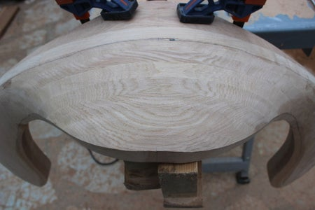 Back and Arm Rest Shaping and Sanding