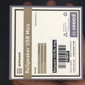 ReSpeaker USB 4-Mic Array