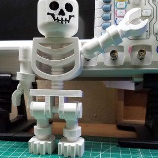 Giant Skeleton Minifig (10X Scale!)