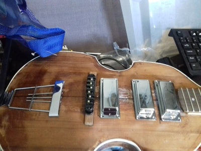 Step 3: P90 Covers, Alnico 5 Pickups and Pots