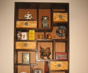 KNICK KNACK SHADOW BOX