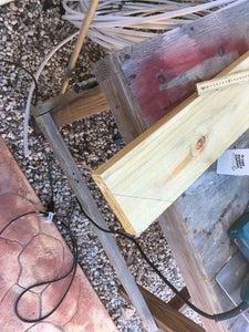 Cutting the Wood!