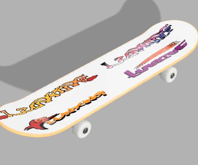 Beautiful Skateboard