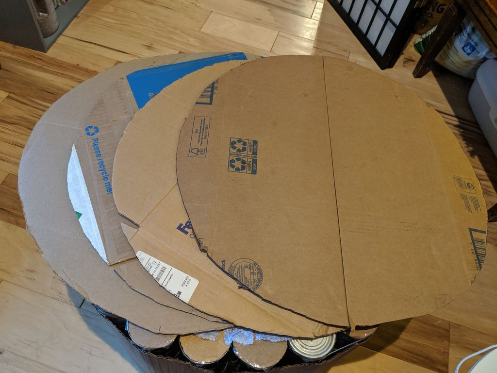 Picture of Cut Large Cardboard Circles