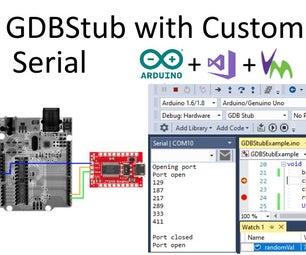 GDBStub Debugging With Serial