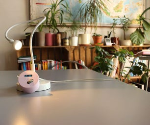 IKEA Table Lamp Into a Light Alarm With Dimmer