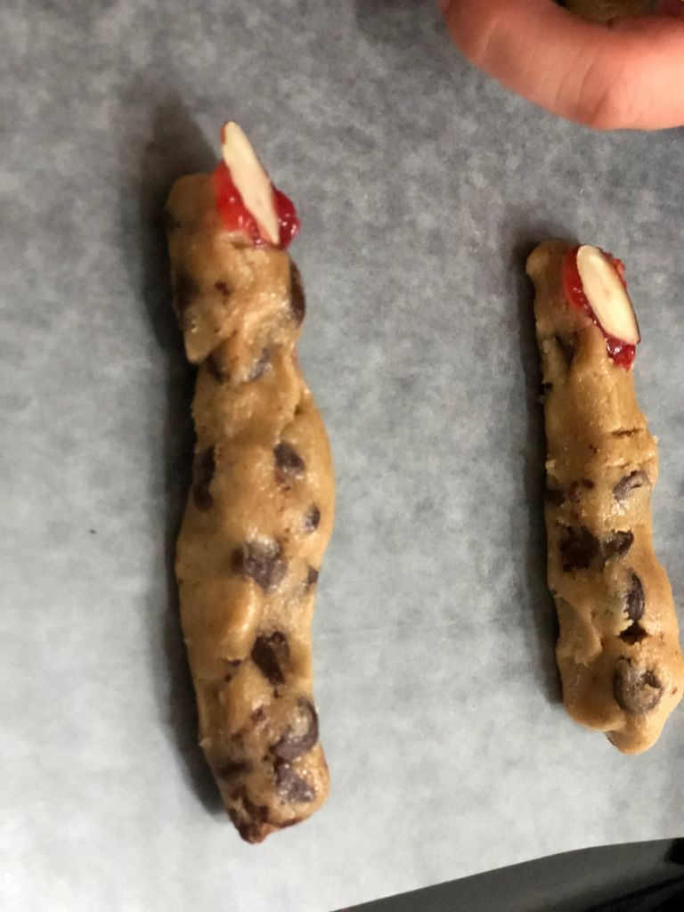 Picture of Decorate Your Witch Finger Cookies.