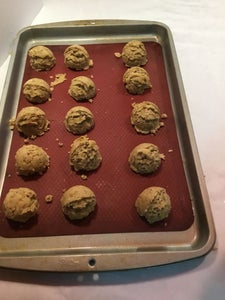 Step 8. Portioning the Cookies