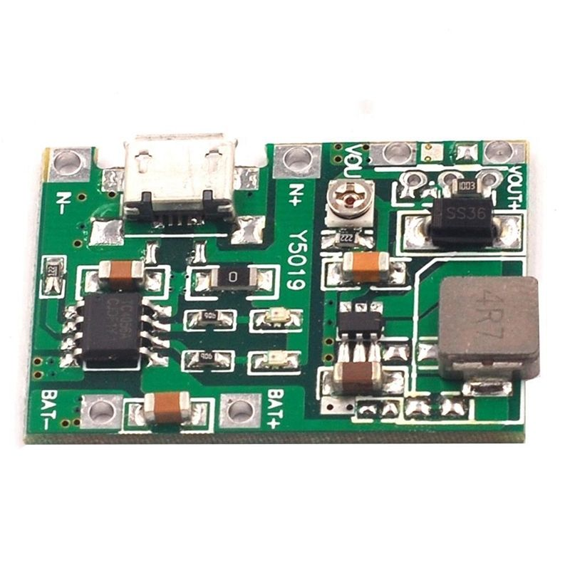 Picture of The Charging Module and Li-ion Battery