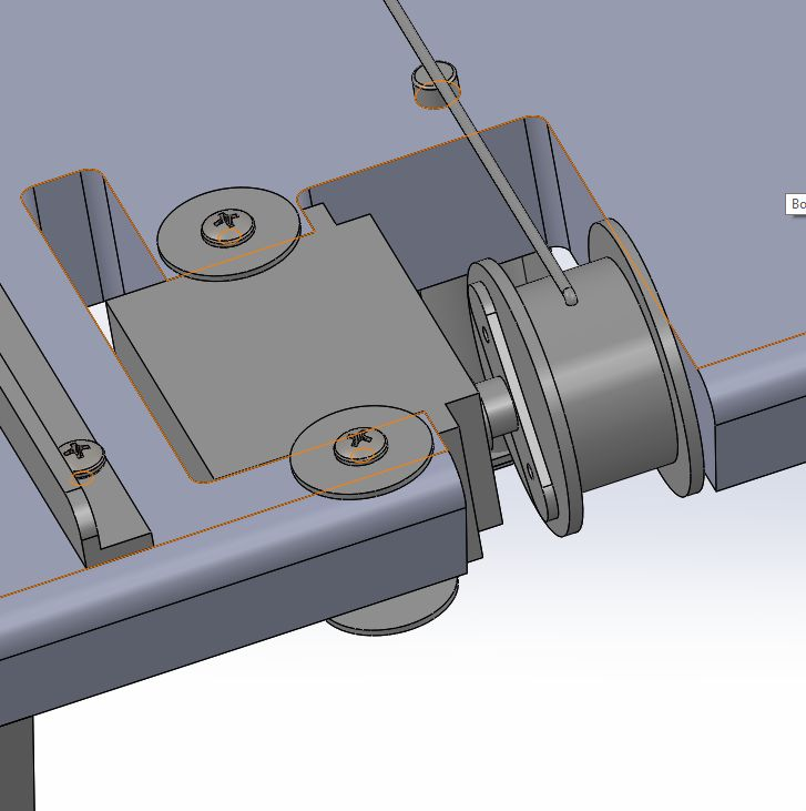 Picture of THE SLIDE WEDGE BASE ASSEMBLY