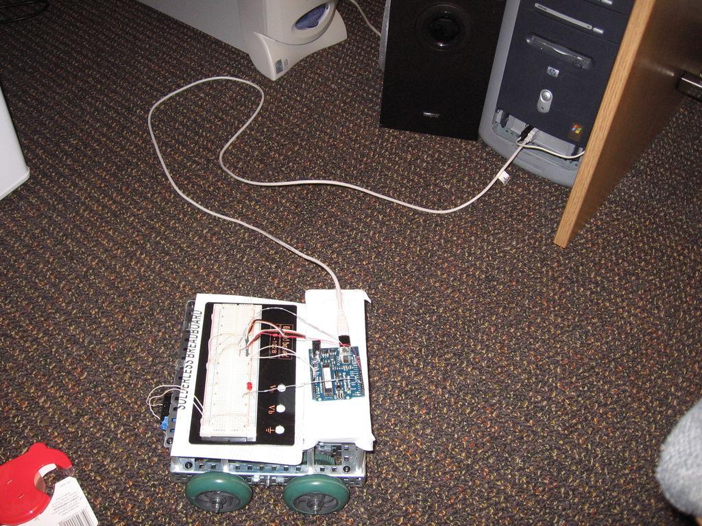 Picture of Simple Arduino Robotics Platform!