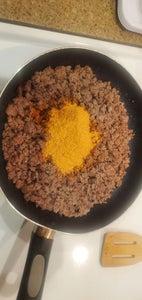 Adding Taco Seasoning