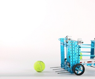 DIY Automatic Ball-picking Machine