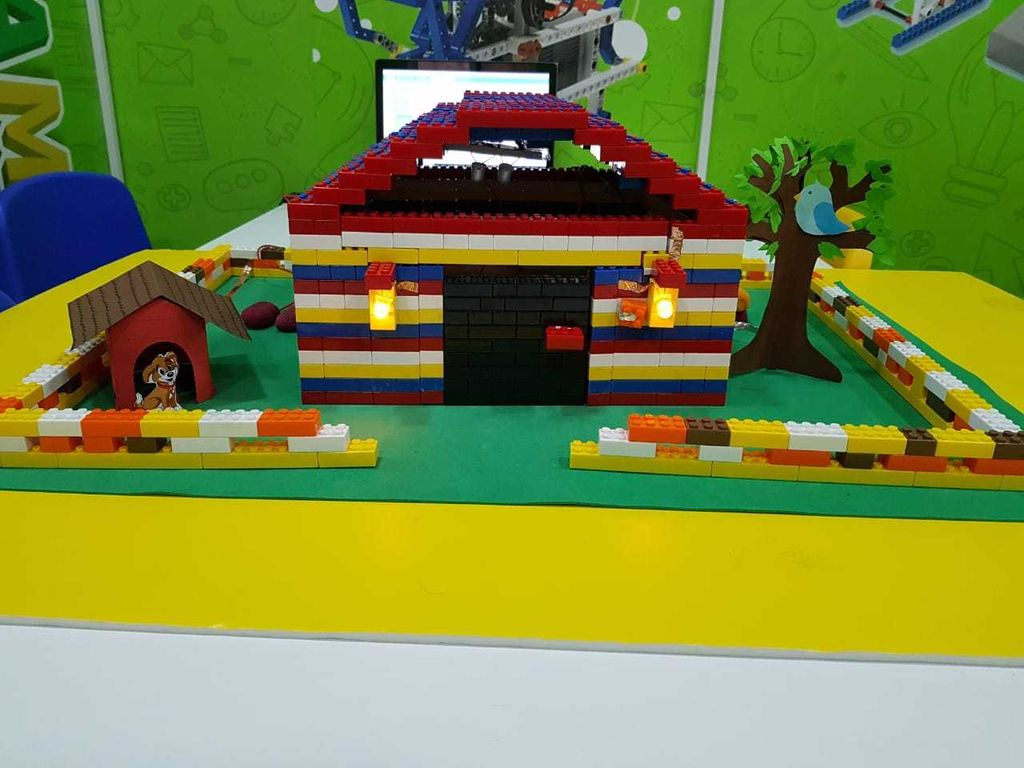 Picture of  Build a Smart House With ( Makey Makey + Scratch + Brick Lab)