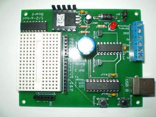 Picture of Solder the Board.