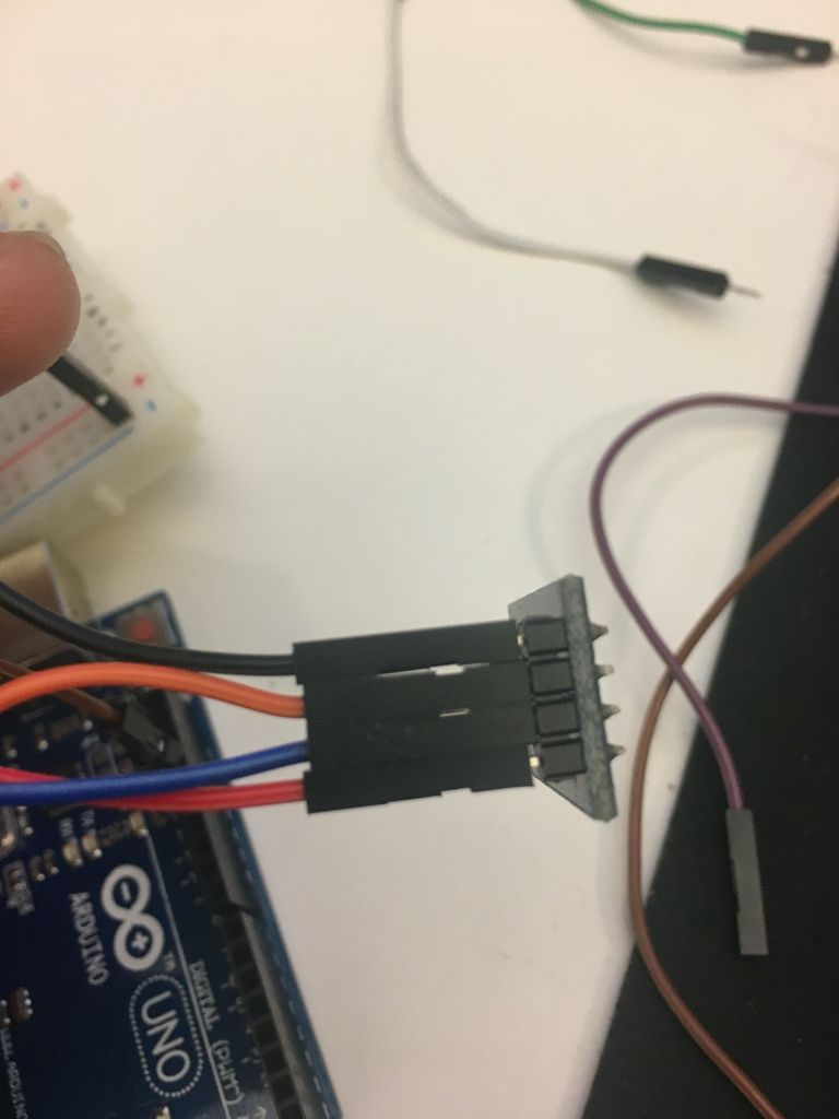 Picture of Step One: Wire the Gyro to the Arduino