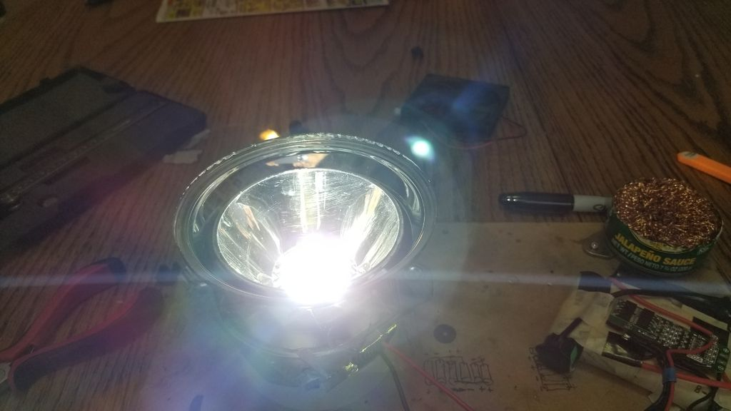 Picture of LED Spotlight Conversion