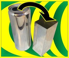 做一个方形的易拉罐