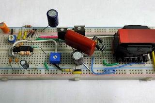 Testing the Circuit on Breadboard