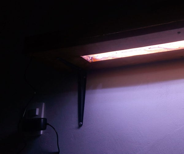 LED Light Shelf