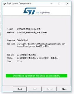 Uploading the Arduino Bootloader to the STM32