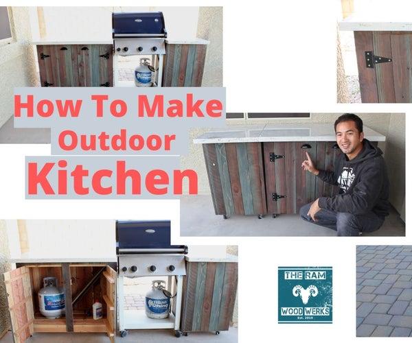 DIY Outdoor Kitchen