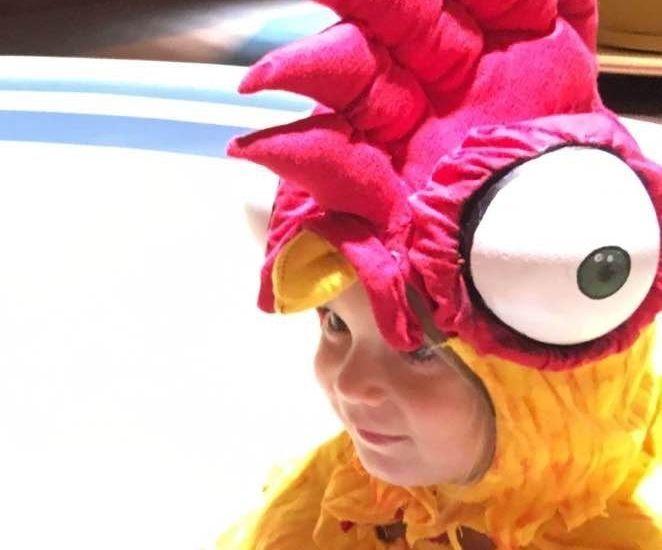 Hei Hei Rooster Costume
