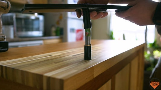 Installing the Upper Counter
