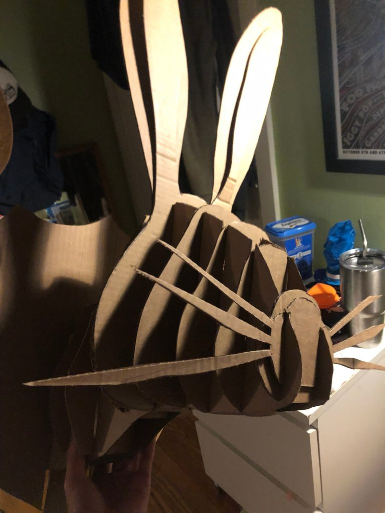 Picture of Cardboard Rabbit