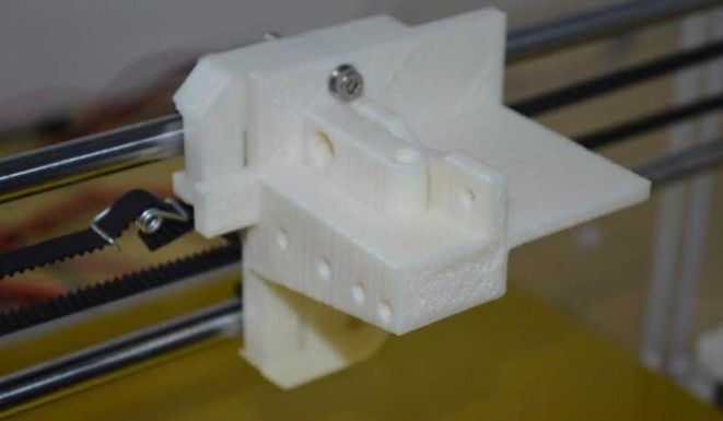 Picture of Extruder Installation
