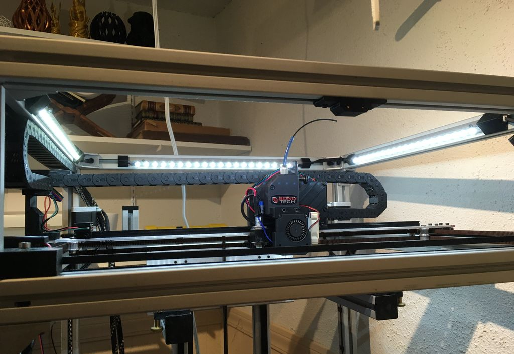 Picture of Chain-able LED Strips for 3D Printers (or Decor)