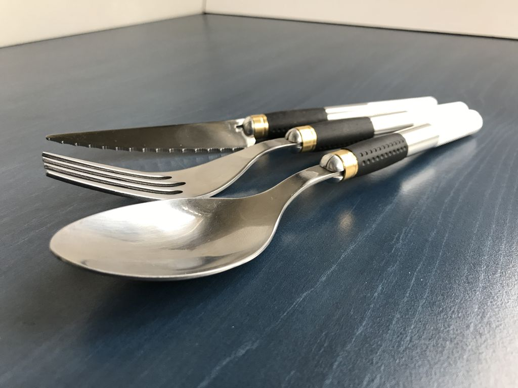 Picture of Camping Cutlery From Ordinary Kitchen Utensils
