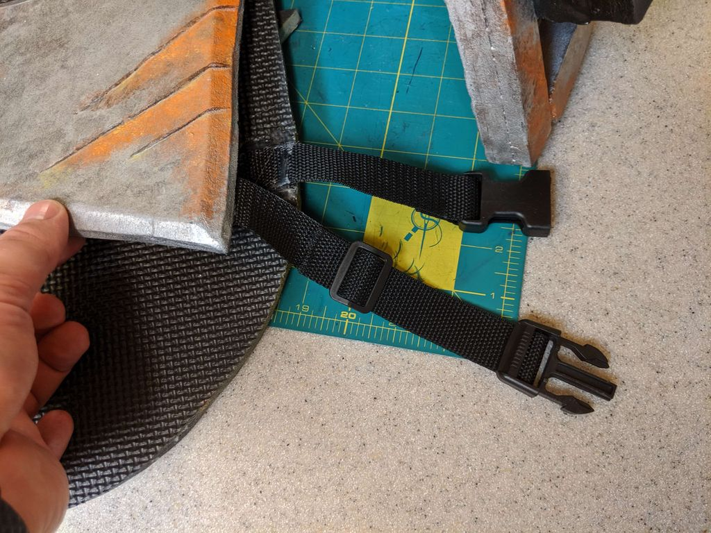 Picture of Add the Straps to the Armor