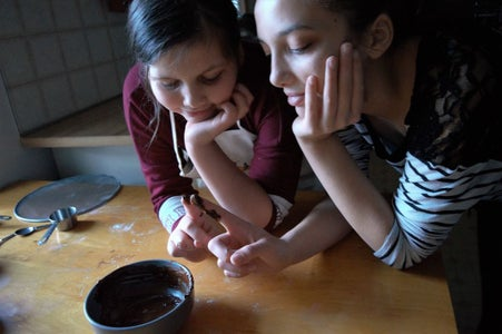 Make Chocolate Dough