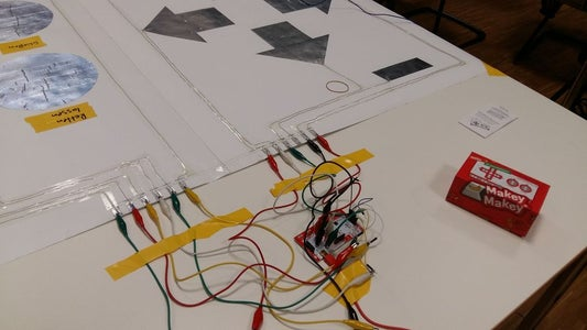 Connect to the MakeyMakey