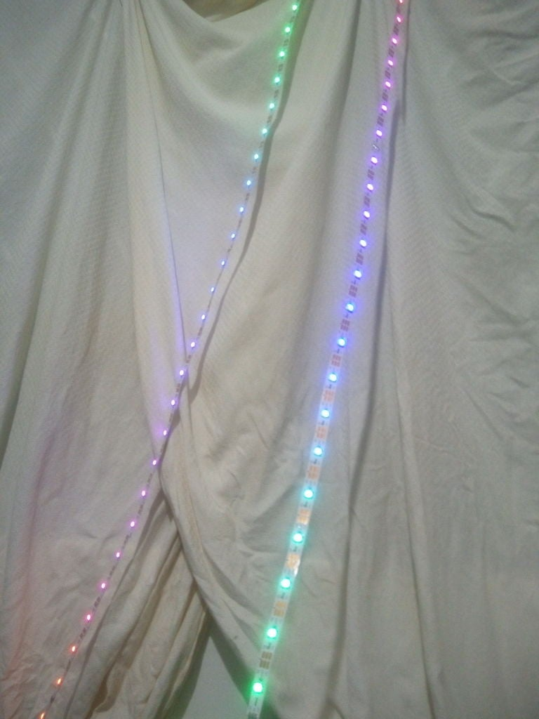 Picture of Christmas Window Light Decoration With Arduino and WS2812 LED Strip