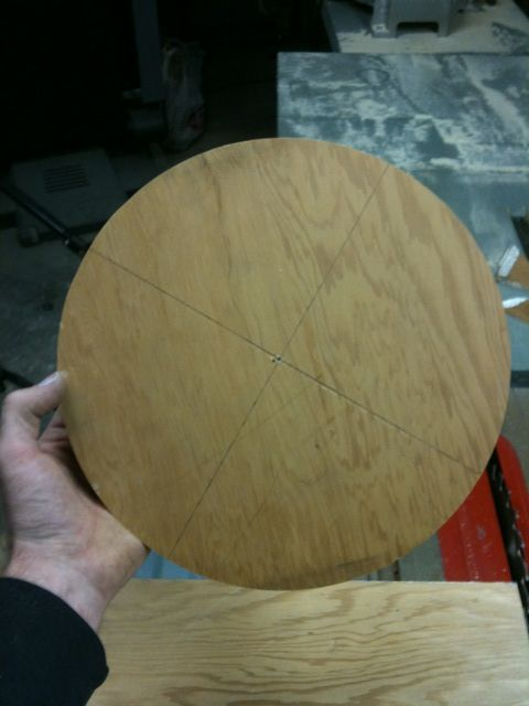 Picture of Make a Perfect Circle. WITH a TABLE SAW!