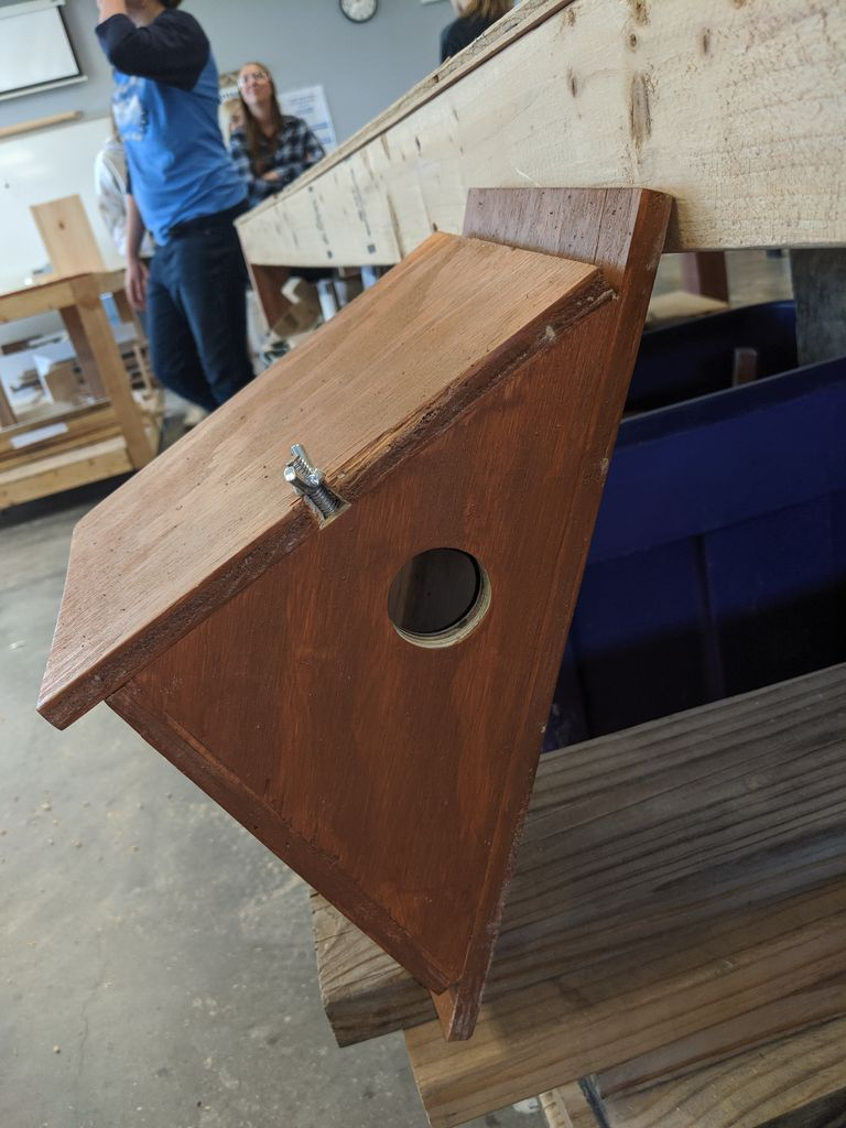 Picture of Stain and Mount Your Bird House