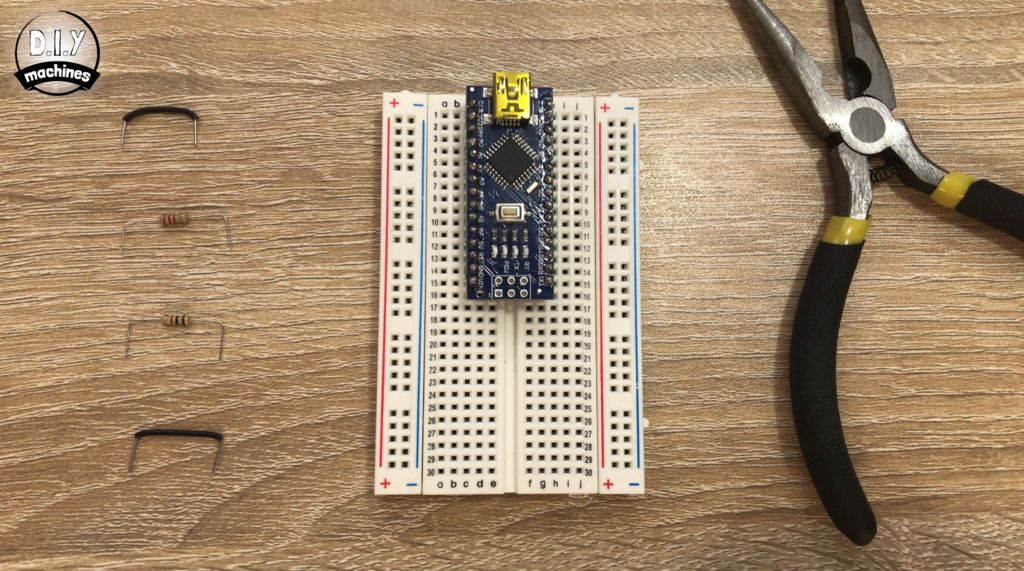 Picture of Assembling Electronics on a Breadboard