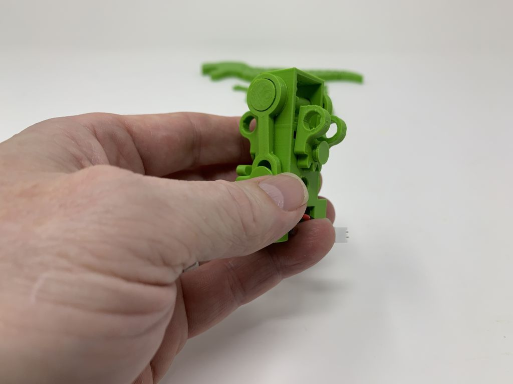 Picture of Add the Seesaw and Body Mounts.