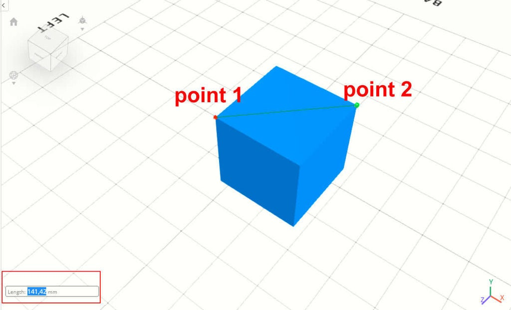 Picture of Change Dimension in Cross Point