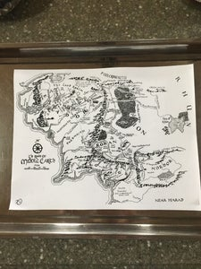 Dyeing the Map